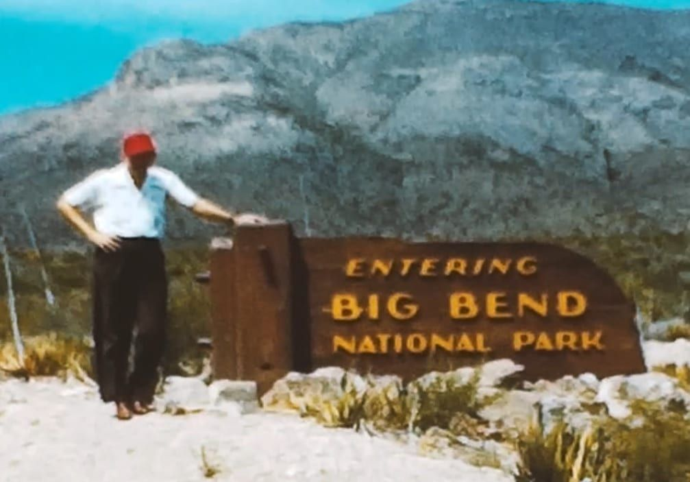 Found film 1951 big bend national park texas with images