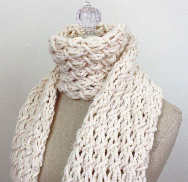 Phydeaux Twist Chunky Scarf Knitting Pattern   Knitting ...