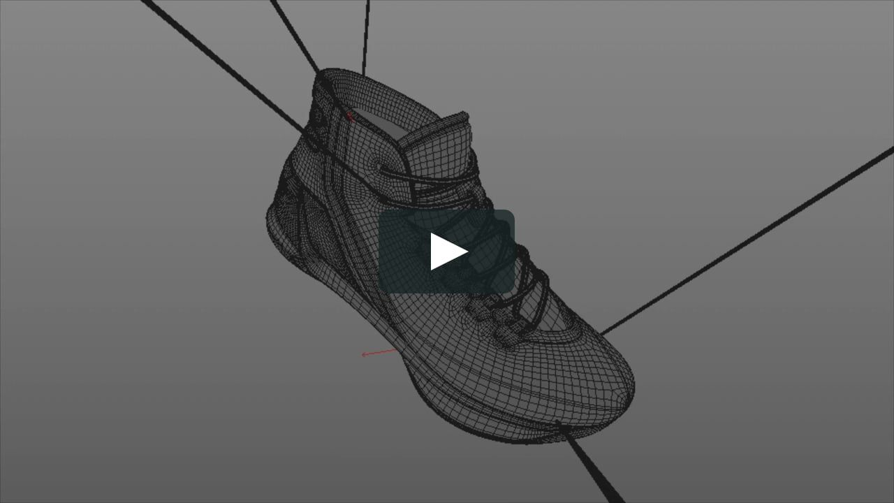 Under Armour Curry 3 Had a great opportunity to come up with new animation  techniques and ways to show case this shoe at Big Block LA. 681b88c9c