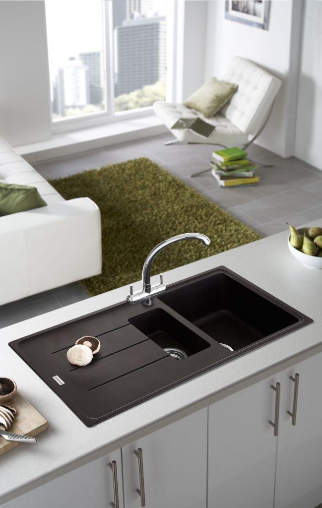 Download Wallpaper Black Vs White Kitchen Sink
