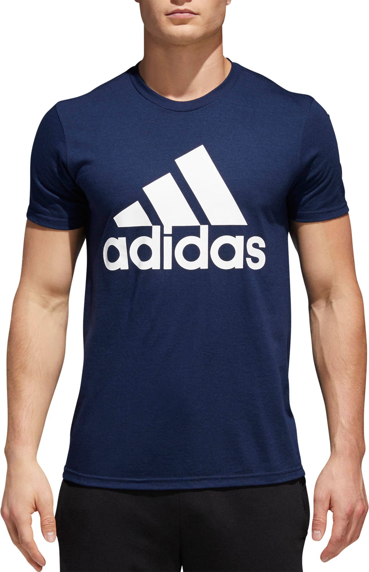 sports shoes a993a 1aaed adidas Mens Badge of Sport Classic Graphic Tee, Size 4XL, ...