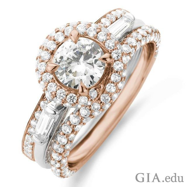 Have You Heard The Term Melee While Shopping For Diamond Engagement Ri Trending Engagement Rings Rose Gold Engagement Ring Beautiful Diamond Engagement Ring