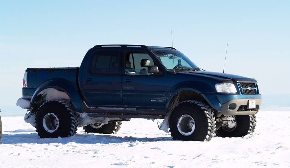Sport tracIceland (With images) Sport trac, Ford