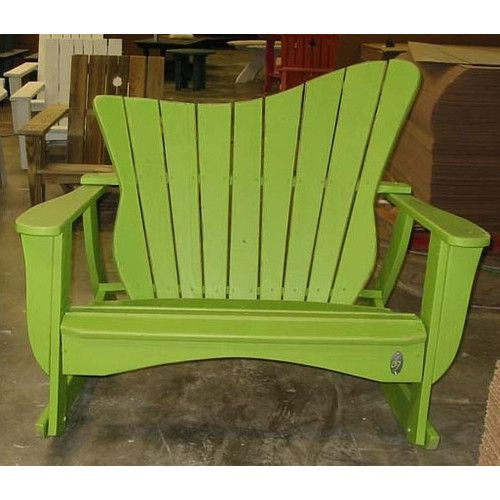 Found it at Wayfair - Wave Settee Rocking Chair