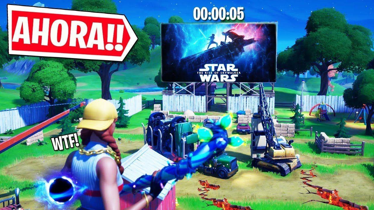 Evento Star Wars Cada Hora Ultima Fase En Carretes Comprometidos En Directo Fortnite Youtube Star Wars Fortnite Evento