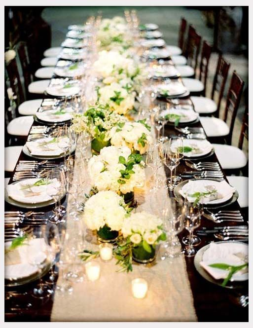 Long Table Decorations Ideas size 1152x864 long table ideas long wedding table decoration Wedding Table Decor