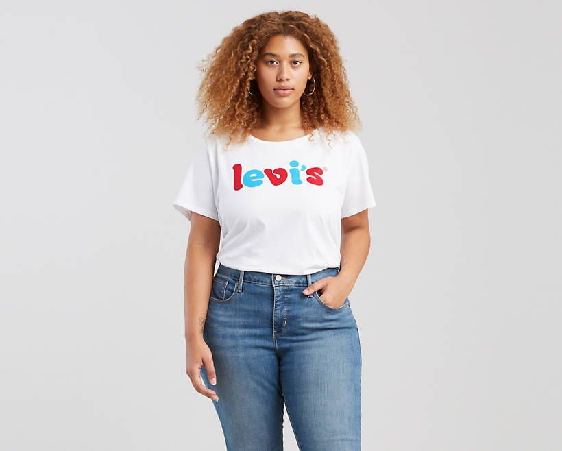 64a0afe0 Levi's Perfect Graphic Tee Shirt (Plus Size) in 2019   Products ...