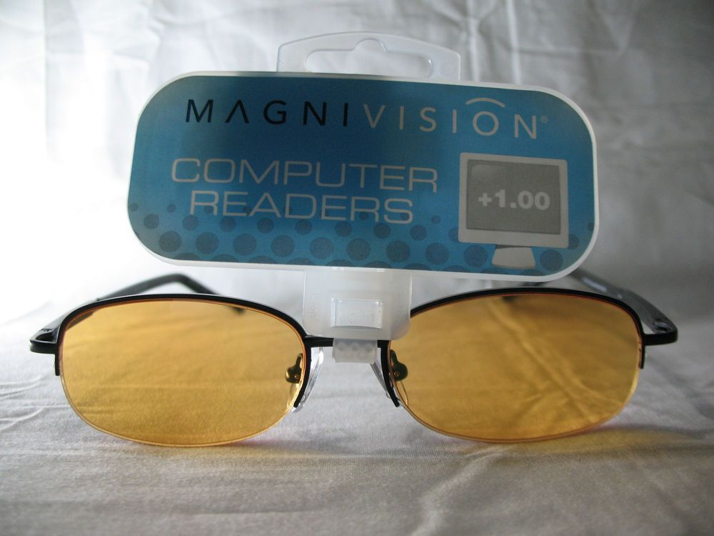 Details about magnivision computer seville black half