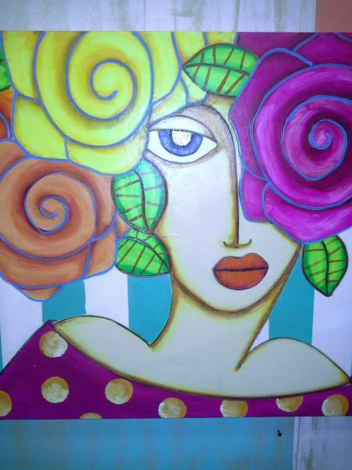 Baraka cuadros pintando caras pinturas cuadros - Ideas para pintar cuadros ...