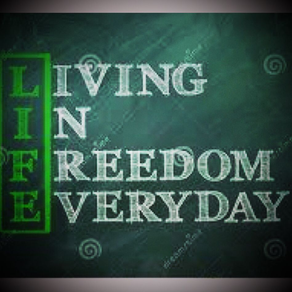 May you experience freedom today my friend as you depend on Him who paid for it. #LiveFreeLoveWell BrokenChainsIntl.com