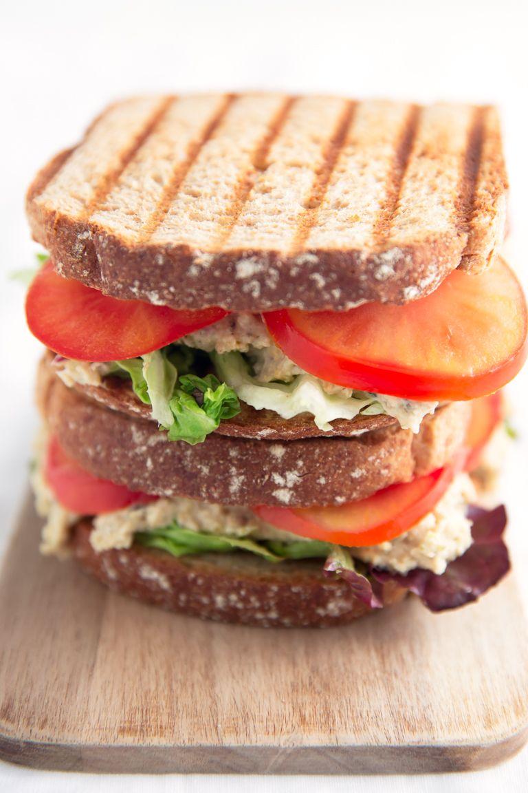 Sandwich De Atún Vegano Este Está Listo En Menos