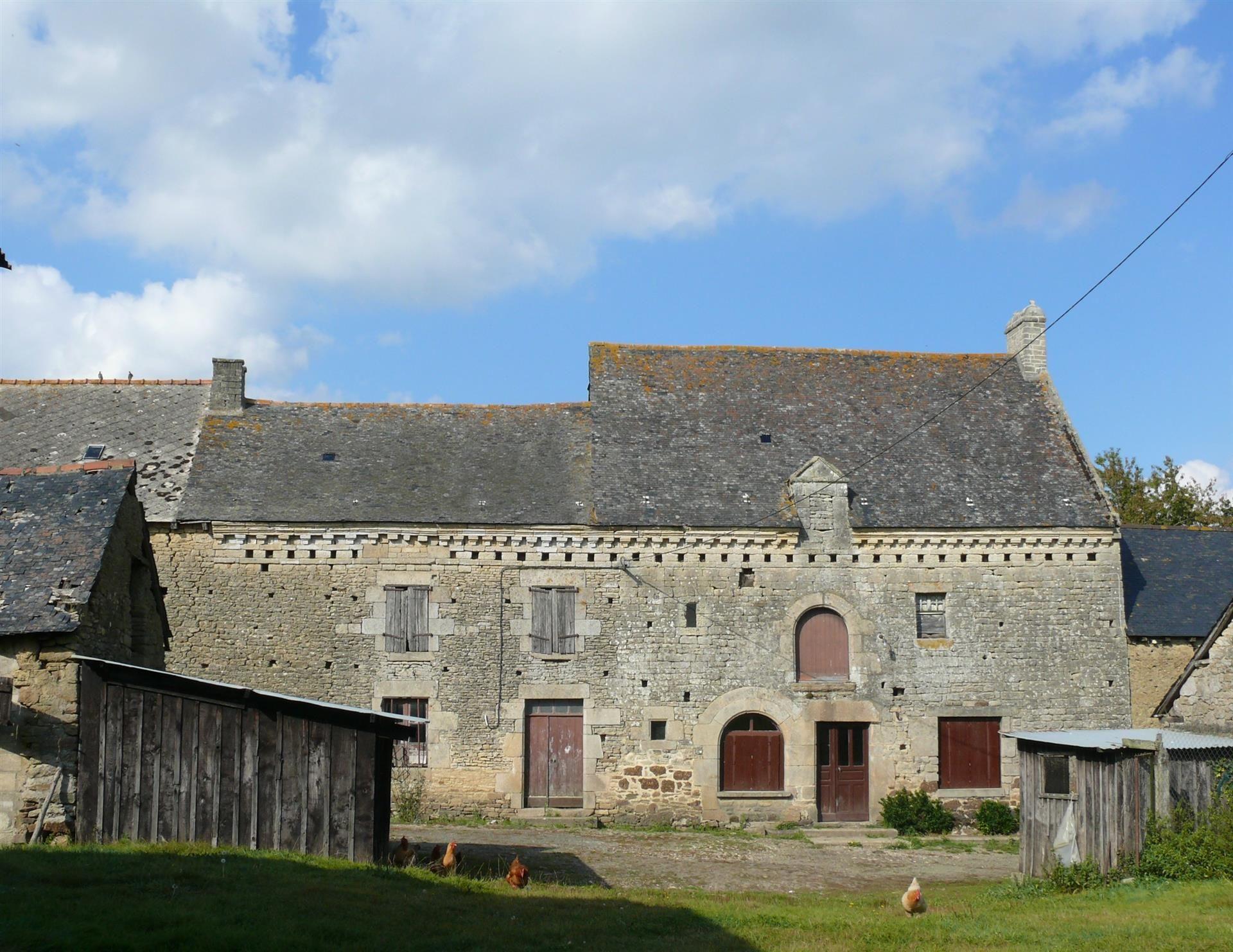 A 10 Mn Au Sud De Dinan Magnifique Corps De Ferme