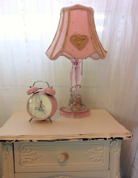 Cute Girly Side Table .
