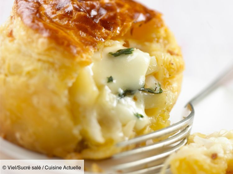 Friand au fromage - Recettes #patefeuilleteerapide