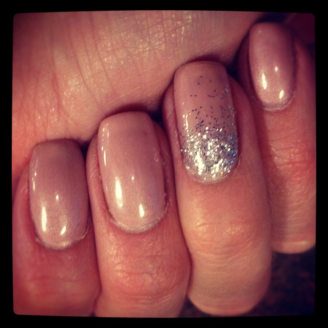 Glitter-Gradient Extended Wear Gel Manicure at Allora Salon and Spa ...
