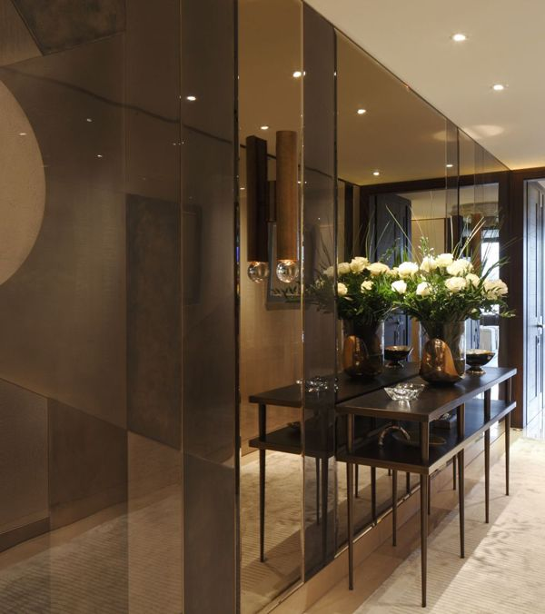 Luxury And Sophistication One Hyde Park By Casa Forma Hallway