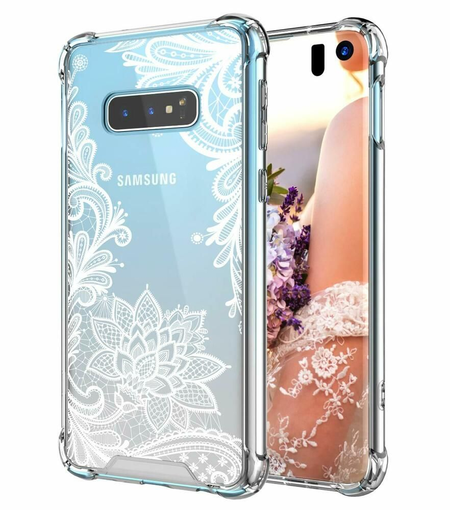 Case For Galaxy S10e 5 8in Cutebe Shockproof Series Hard Pc Tpu Lace Design Ebay Galaxy Phone Cases Case Samsung Galaxy Case