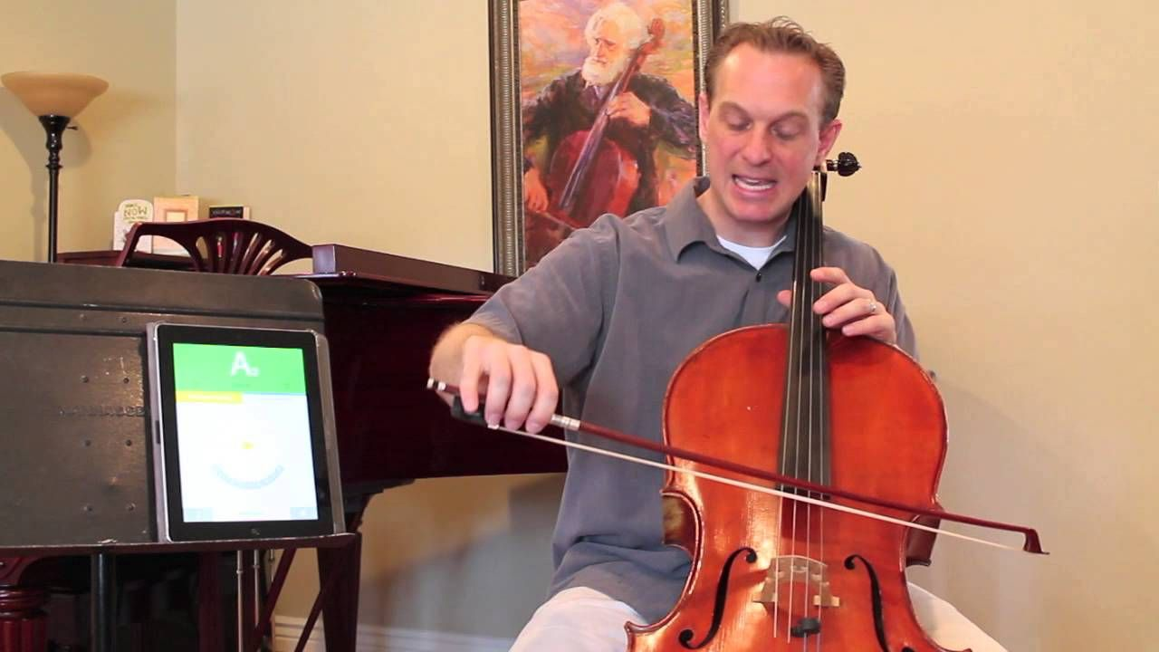 Cello Instruction with Kayson Brown How to tune a cello