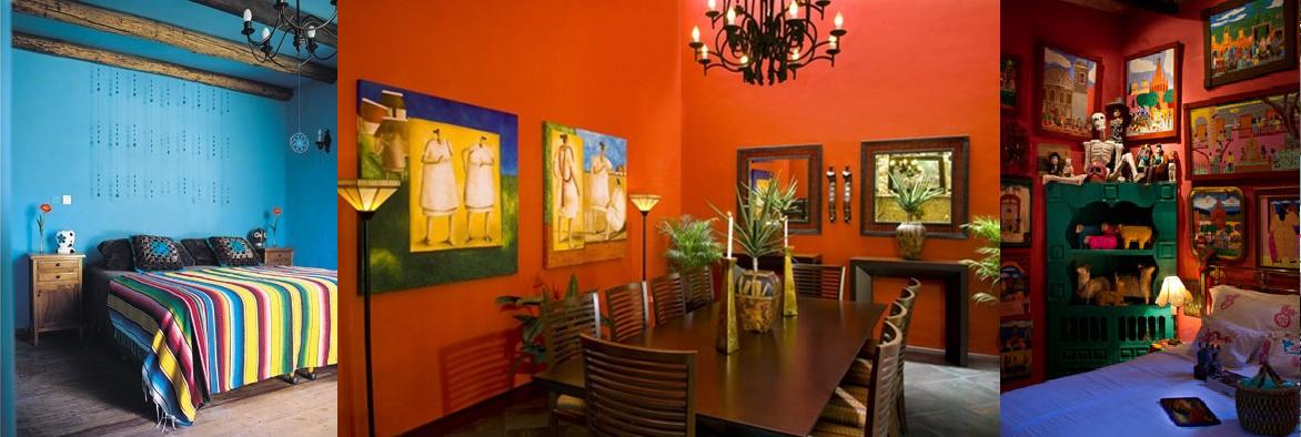 Decoracion estilo mexicano casas ideas decoracion de for Casas coloniales interiores