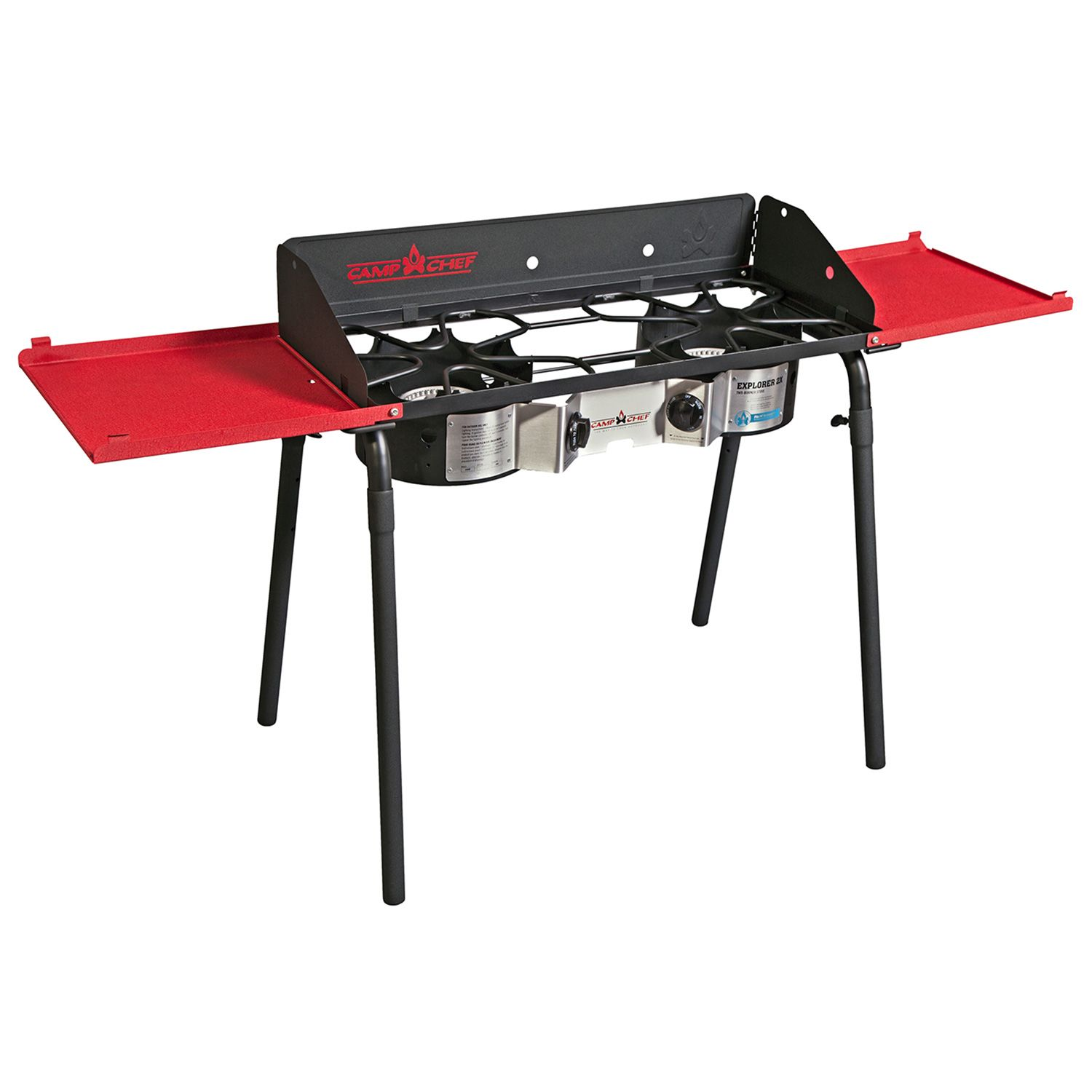 Camp Chef Explorer 2 Burner Deluxe Combo Stove Camp Chef Stove Camping