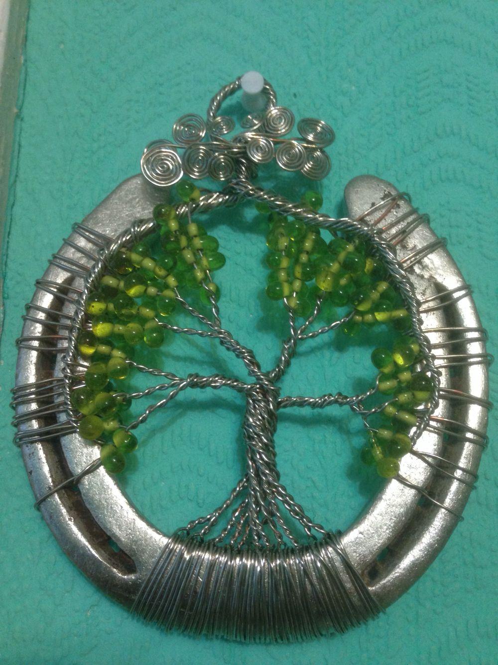 Horseshoe arts and crafts - Horseshoe Tree Of Life