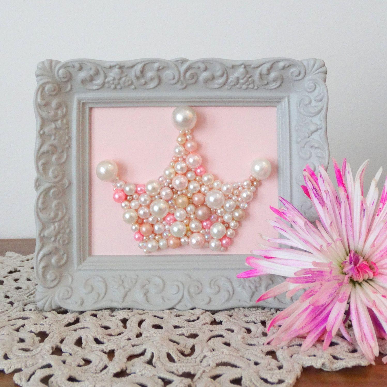 Pastel picture frames image collections craft decoration ideas princess crown mosaic art pastel pearl pink picture crown wall princess crown mosaic art pastel pearl amipublicfo Image collections