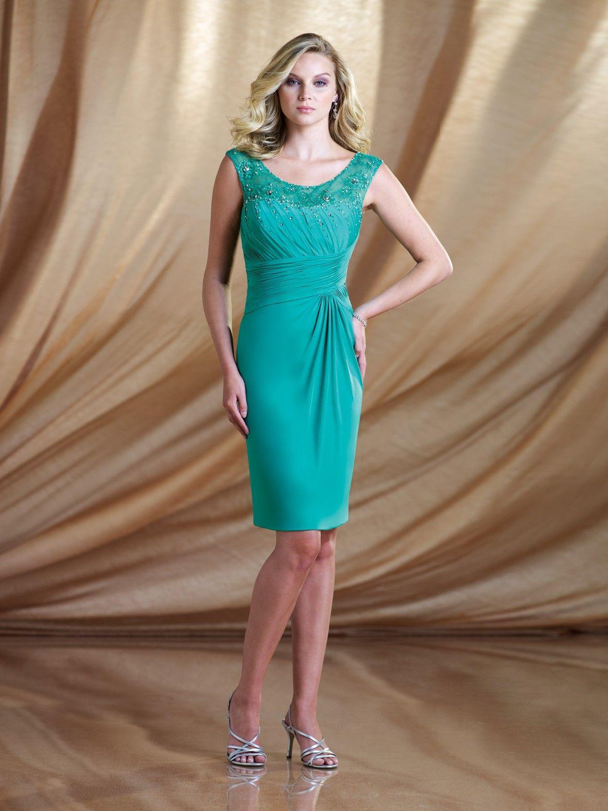 Knee Length Cocktail Dresses | fashionoah.com | Best Knee Length ...