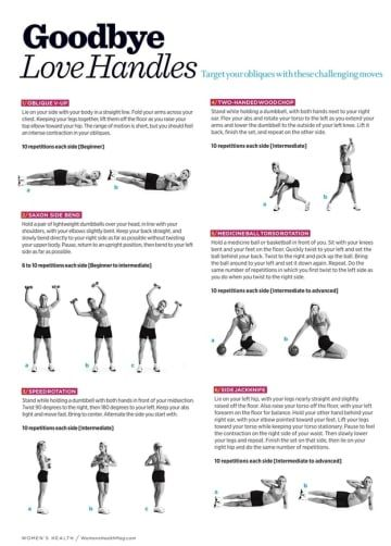These 27 Workout Diagrams Are All You Need To Get In Shape -7797