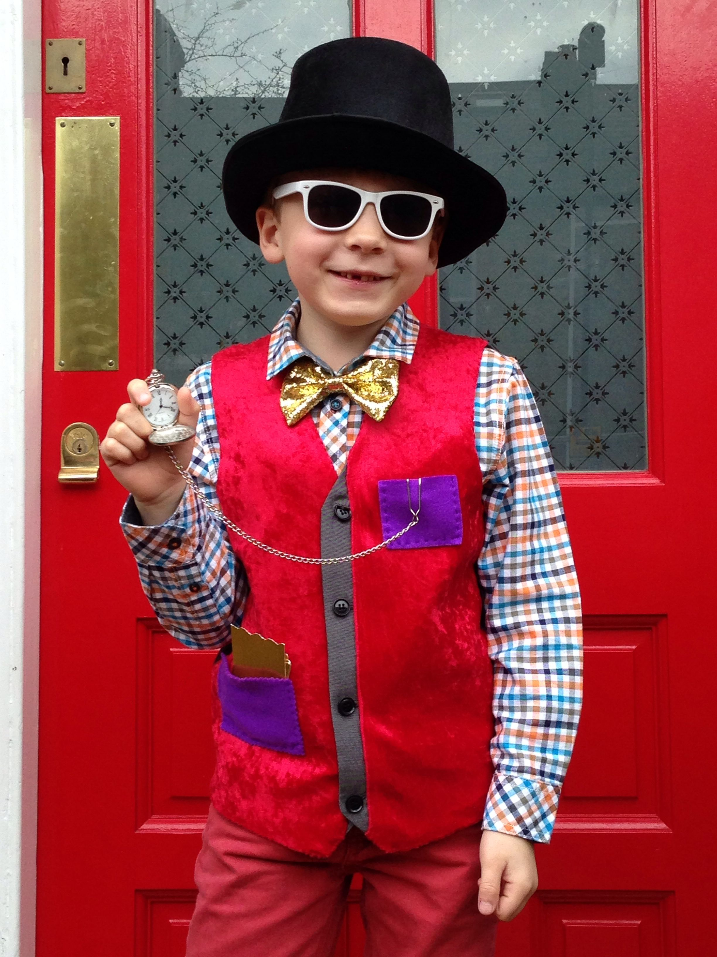 Willy Wonka for World Book Day 2014!