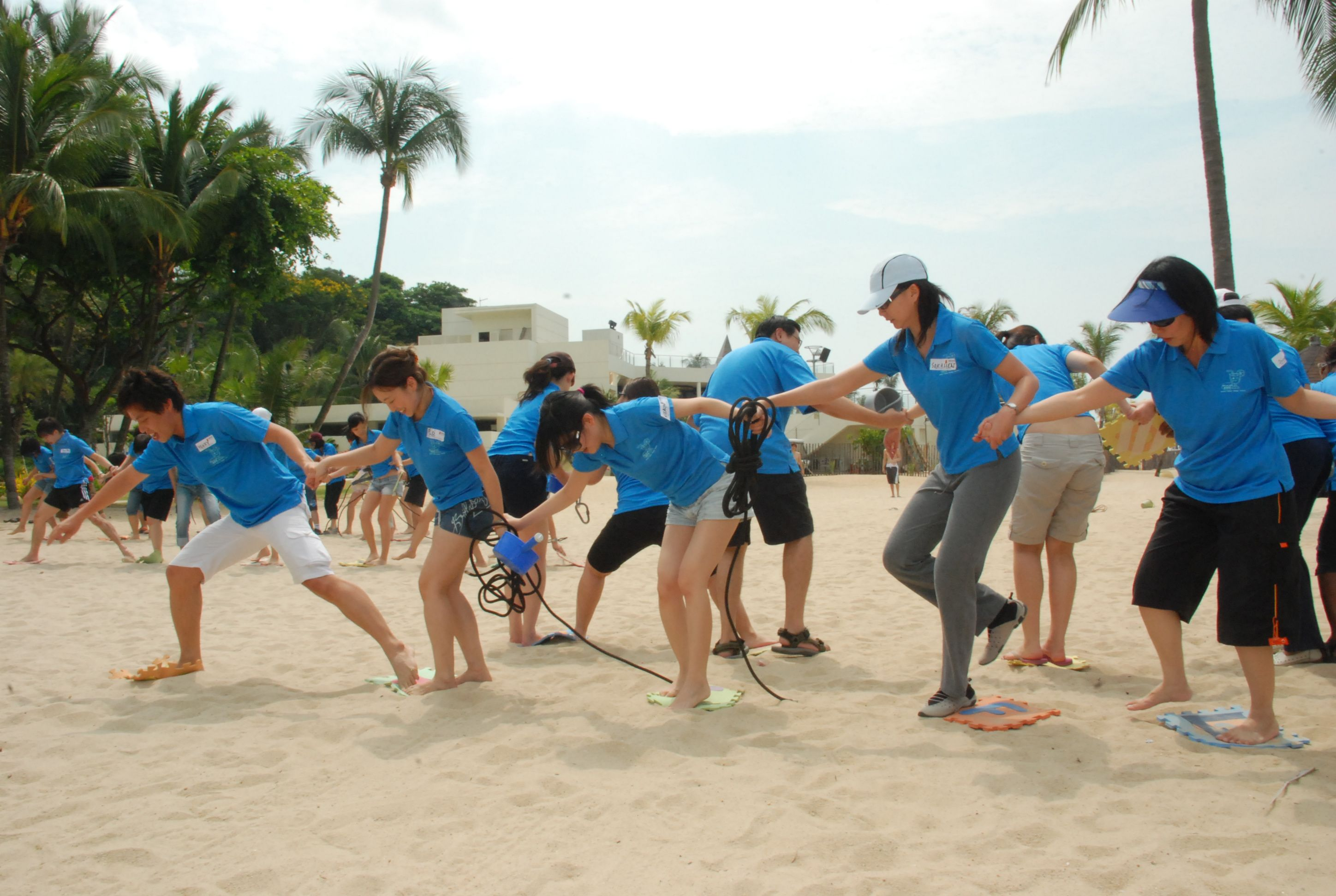 Let's play an outdoor #teambuilding #game to determine the ...