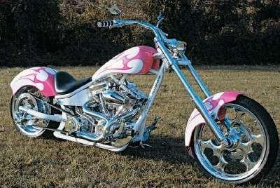 14c6ff1ce85b Shady Lady: A Chopper Profile | Kool' Cars & Motorcycles | Pink ...