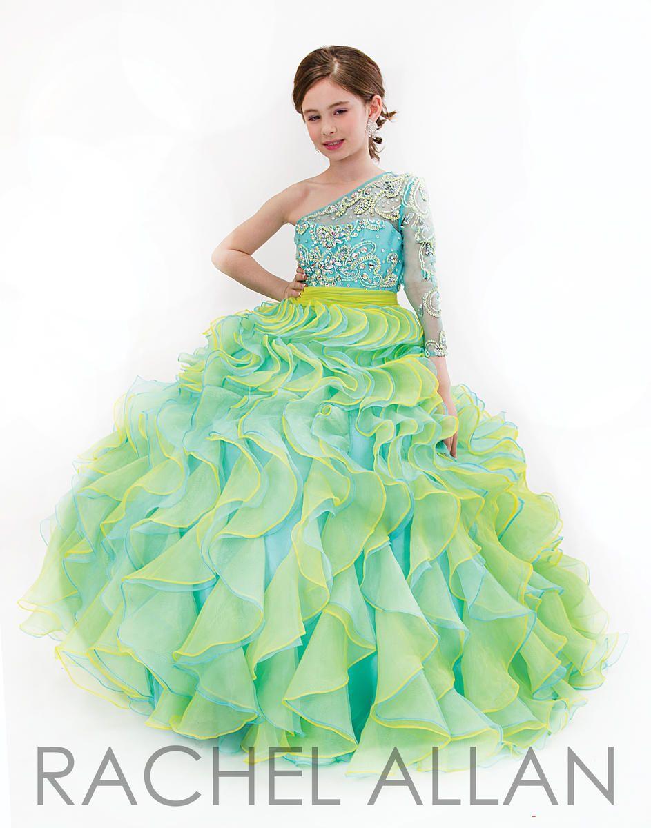 Rachel Allen Girls 2016 Pageant Dresses Rachel Allan Perfect ...
