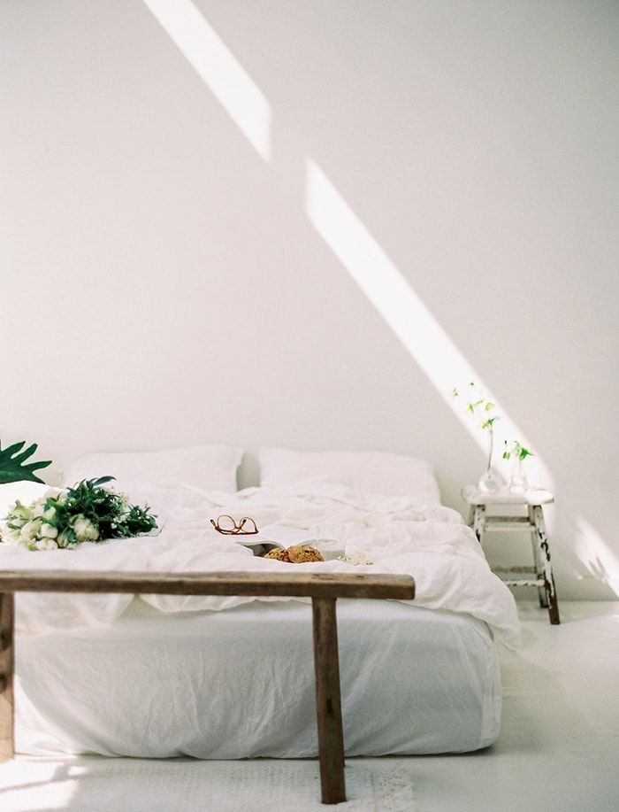 Thatkindofwoman White Bedroom Design Minimalism Interior Home