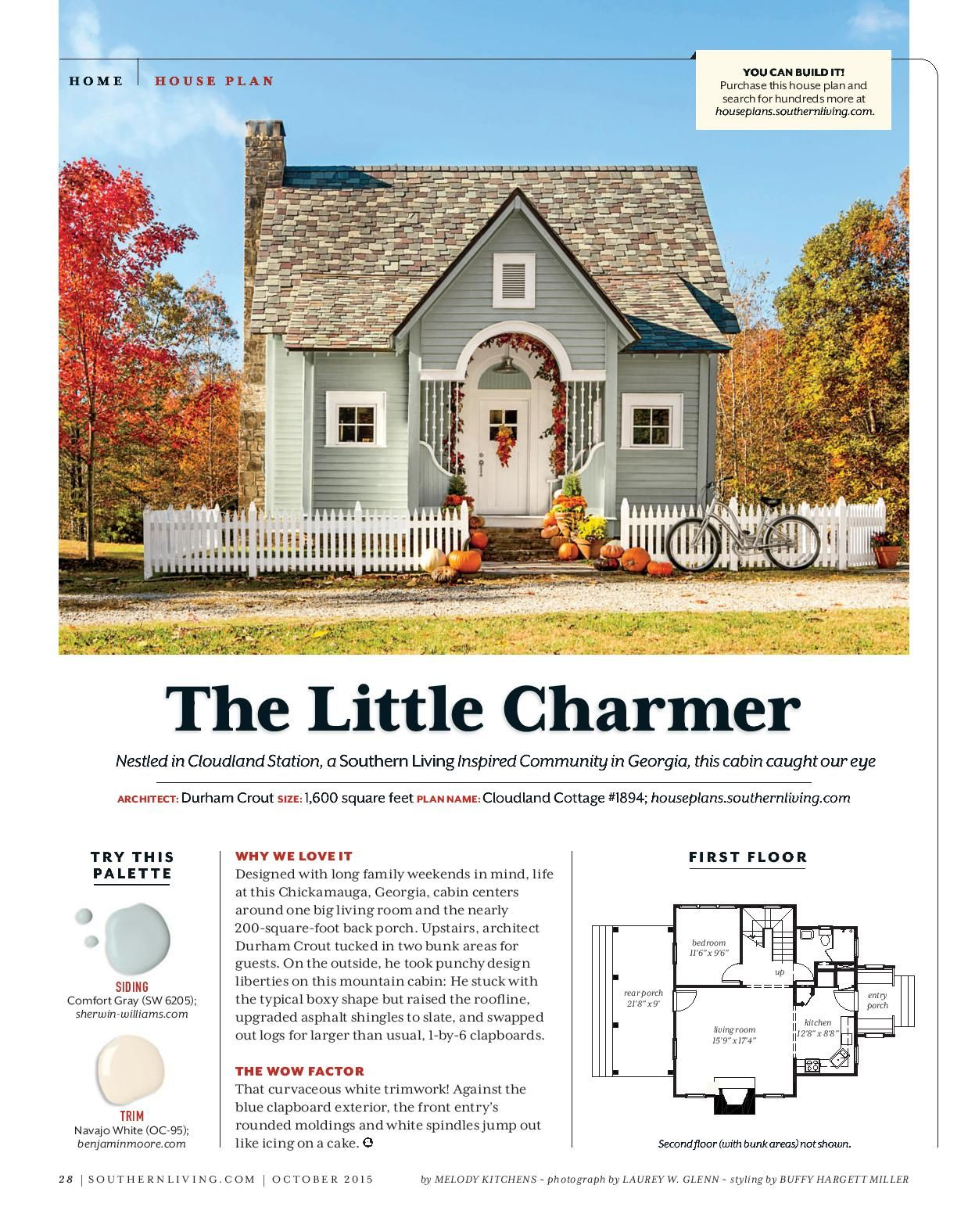 Southern Living House Plans Tiny Cottage Small Cottage House Plans Southern Living House Plans Tiny Cottage