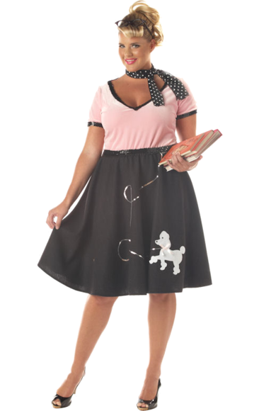 50s Sweetheart Costume (Plus Size) | Costumes