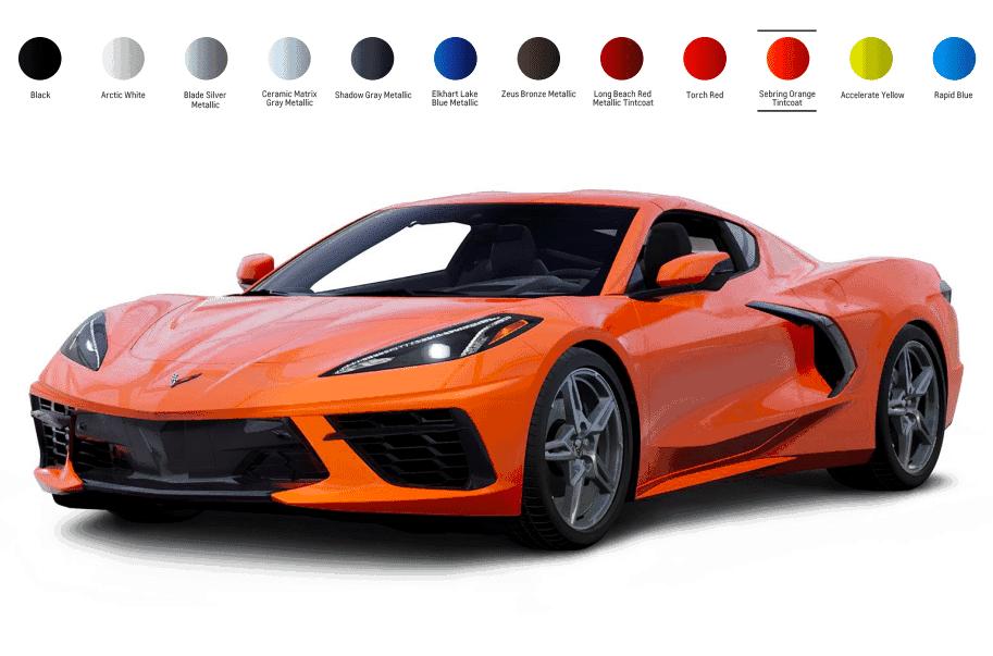 2020 Corvette C8 Sebring Orange Corvette Vette Cool Cars
