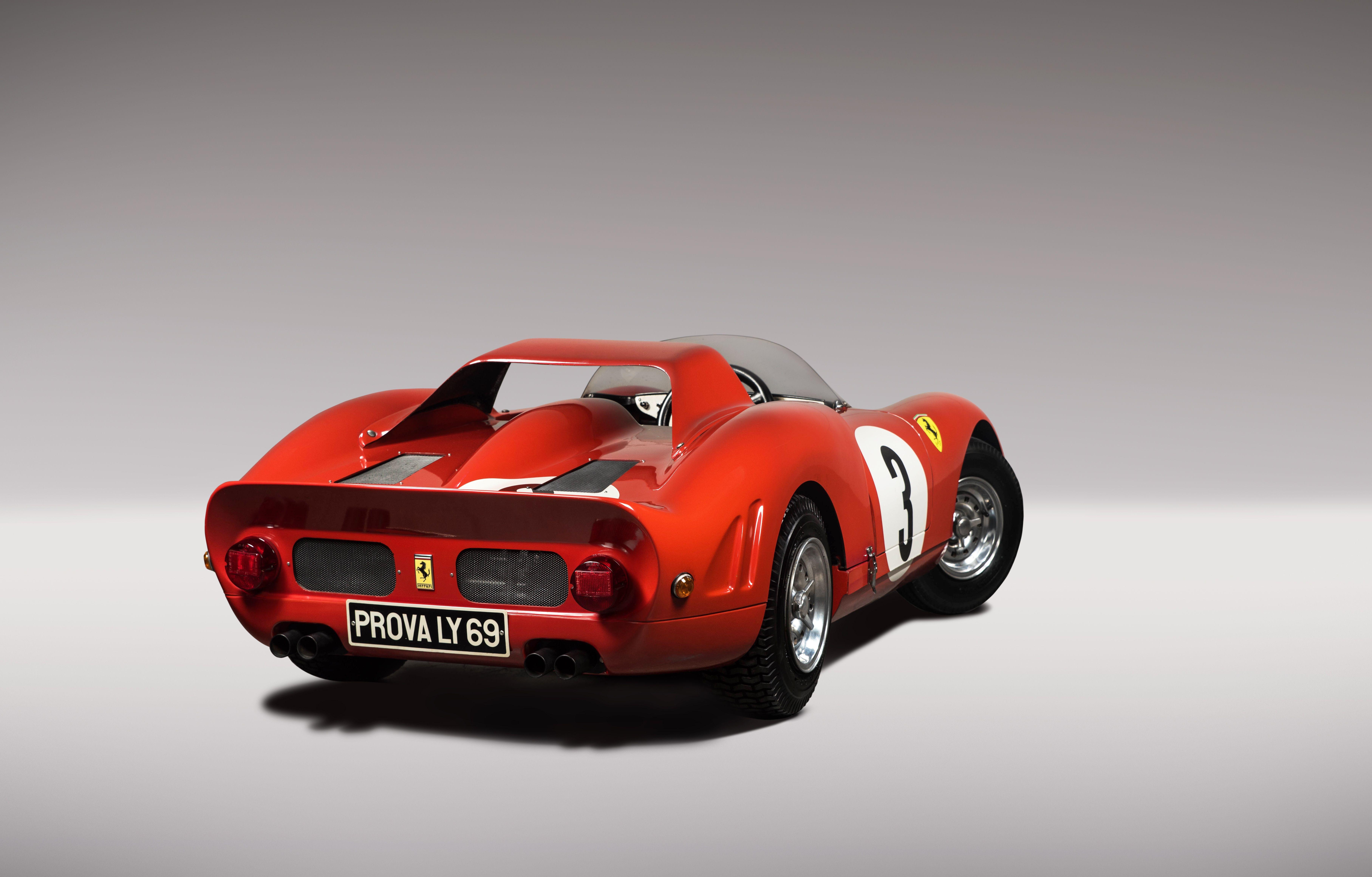 Ferrari 330 P2 Children S Gasoline Engine Junior Car By De La Chapelle Scale 1 2 Ferrari Mini Car Videos