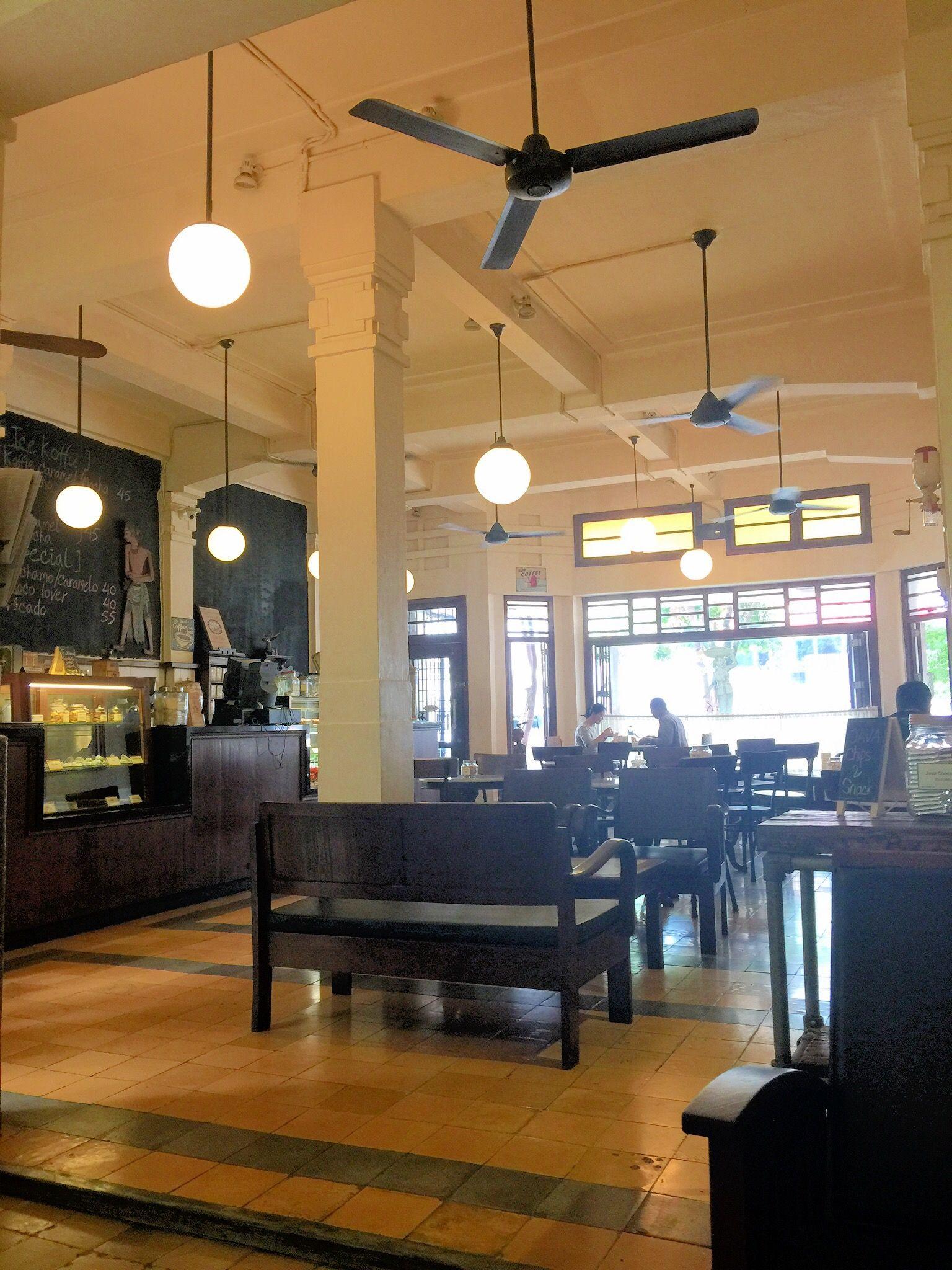 Breakfast at Bakoel koffie Cikini Sarapan dan Tempat
