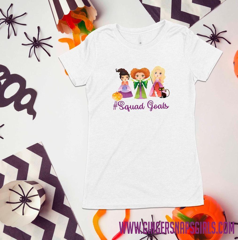 Hocus Pocus Squad Goals Halloween Digital Design File Png Digital Design Squad Goals Halloween Digital