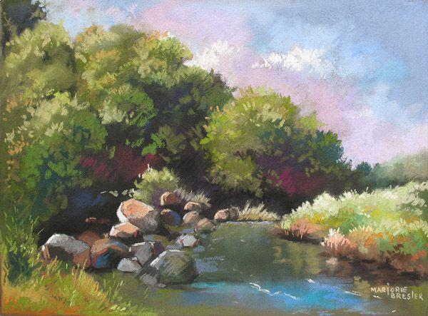 Pics For Gt Oil Pastel Paintings Landscape Oil Pastel Paintings Pastel Painting Pastel Landscape