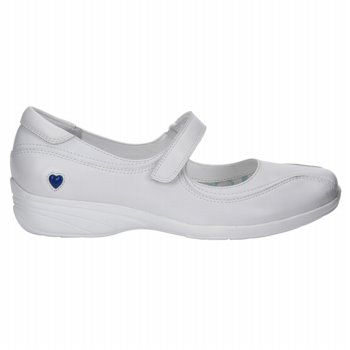 Nurse Mates Women's Willow Shoes in White. Your feet will feel refreshed  during nursing clinicals