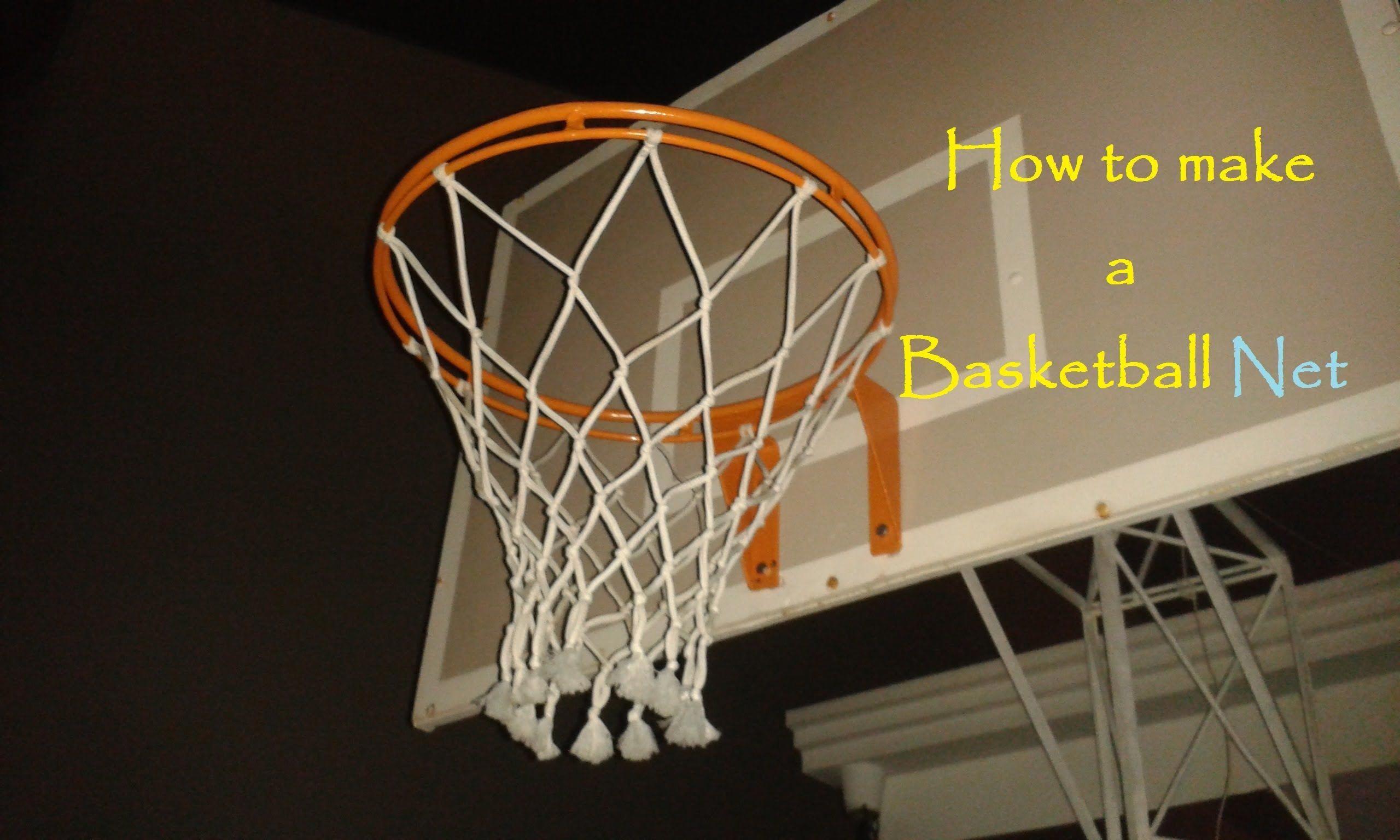How To Make A Basketball Net 12 Strings Basketballgamestoday