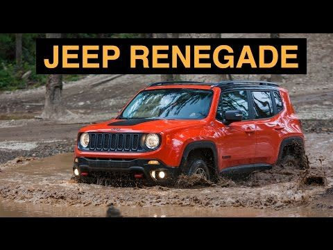 2015 Jeep Renegade Trailhawk 4x4 Off Road And Track Review