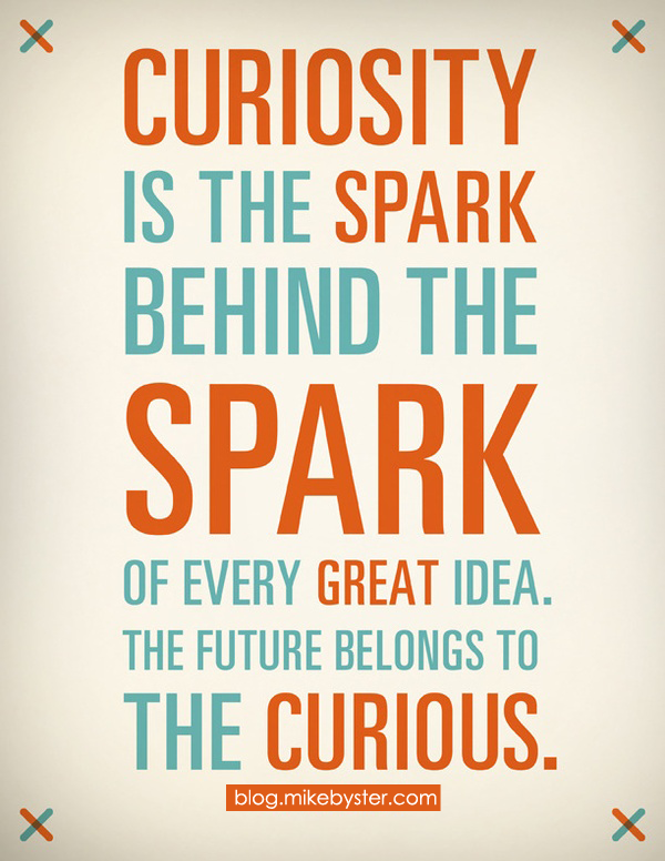 Curiosity Quotes Simple Curiosity #quote #typography #education  Quotes  Pinterest
