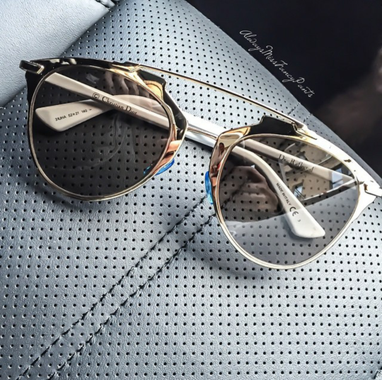 a9fc80034e85 gold metallic christian dior sunglasses