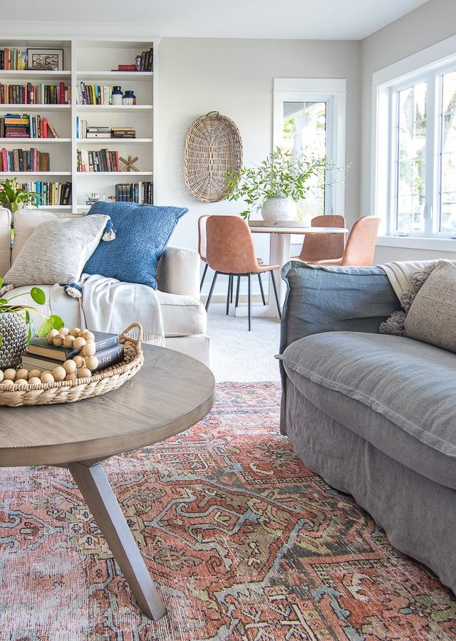 Round Coffee Table And Weekend Sales Family Room Lake House