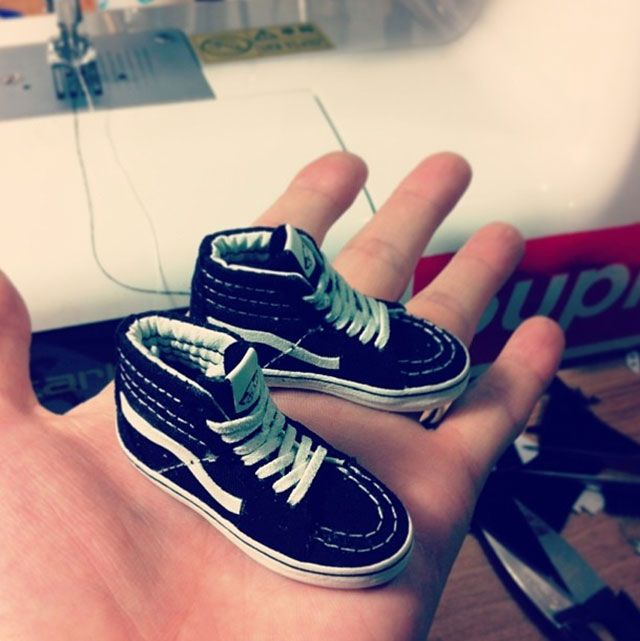 zapatillas nike miniatura