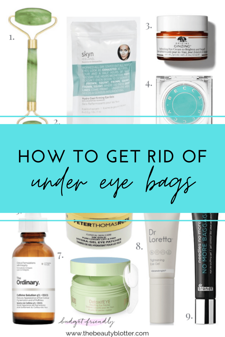 HOW TO GET RID OF UNDER EYE BAGS -   25 how to get rid of bags under eyes ideas