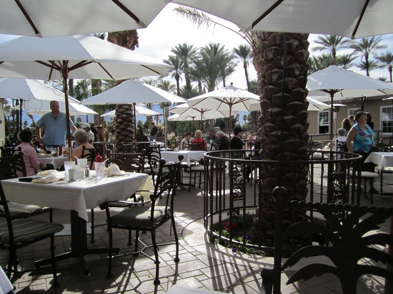 Shield S Cafe At Shield S Date Garden In Indio Ca Palm