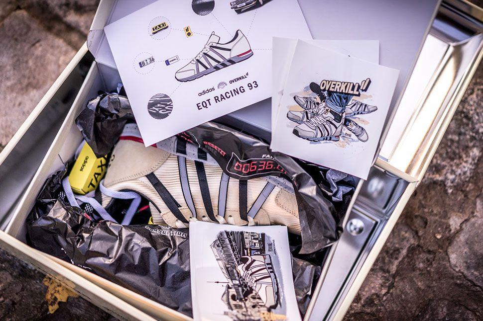 super popular fb3b9 8249d OVERKILL x adidas Racing 93